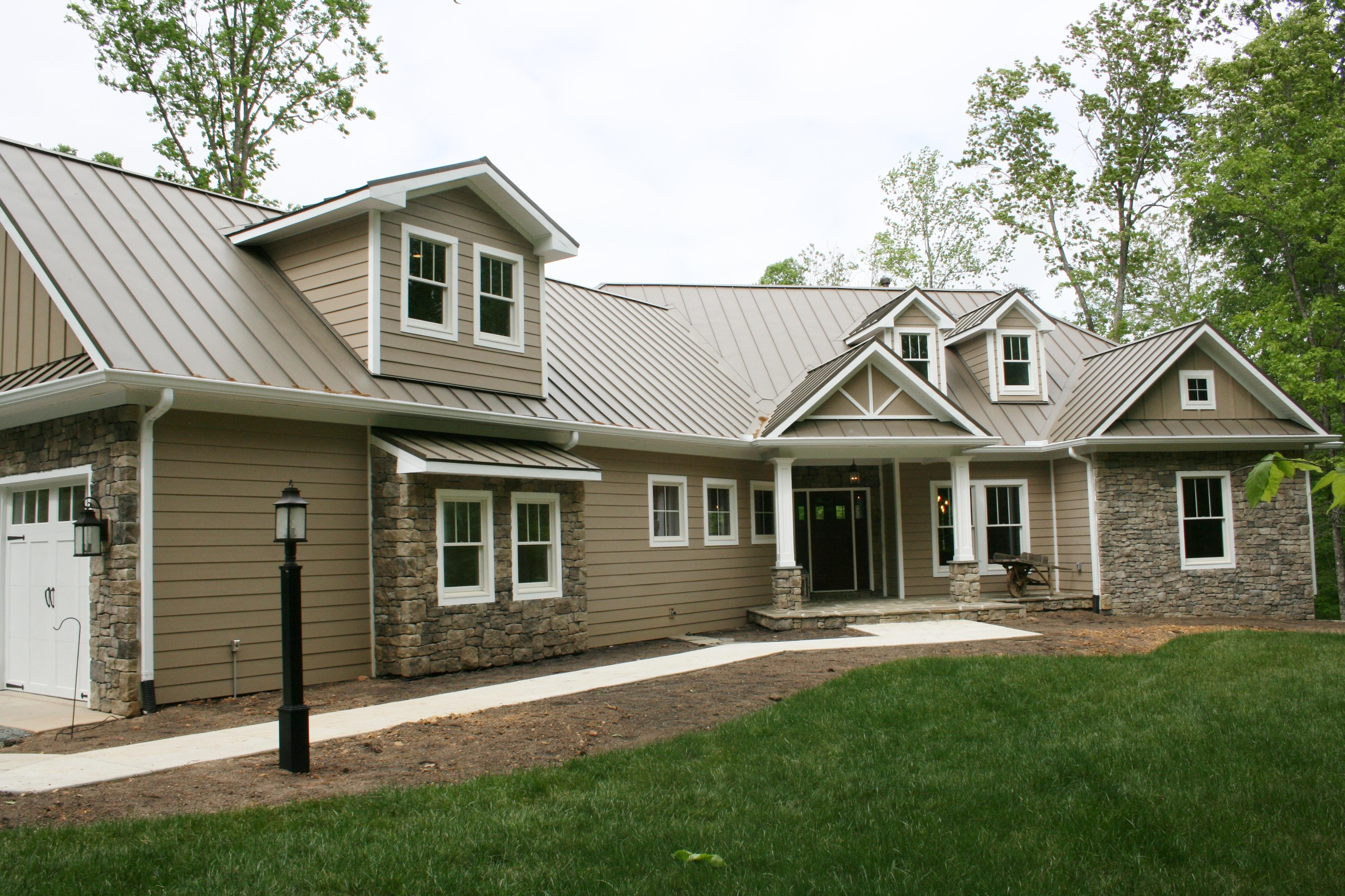 Hardi Plank Siding >> New Construction Custom Home, Warrenton, VA