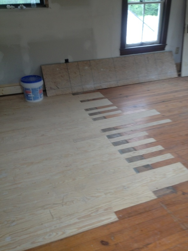 toothed in flooring